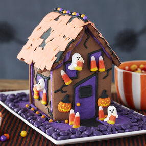 Kids Halloween Gingerbread House